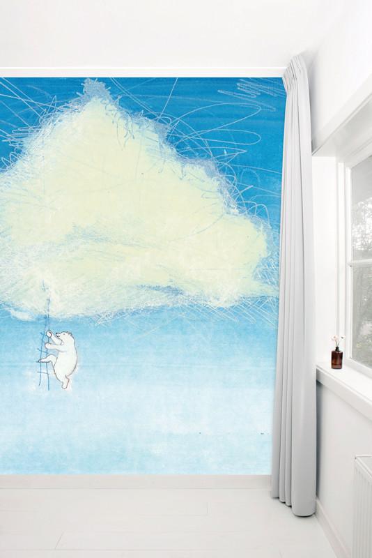 KEK Amsterdam Fotobehang klimmen naar een wolk-8718754015950-31
