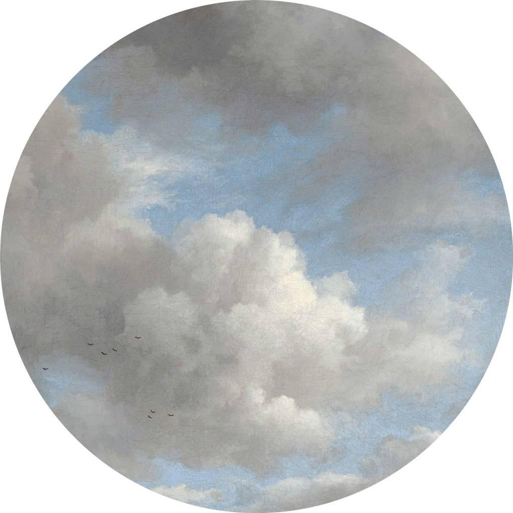 KEK Wallpaper Circle, Golden Age Clouds diameter van 142,5 of 190 cm-8719743885424-31