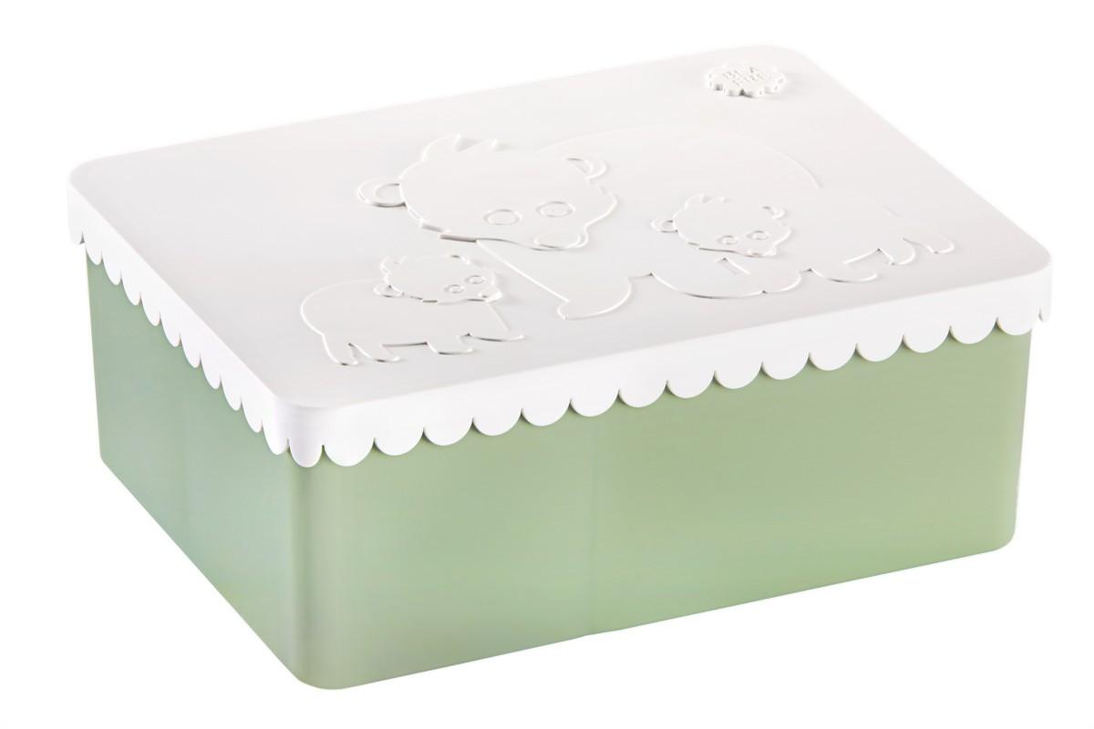 Blafre lunchbox ijsbeer (recht model met vakverdeling groot formaat)-7090015483199-31