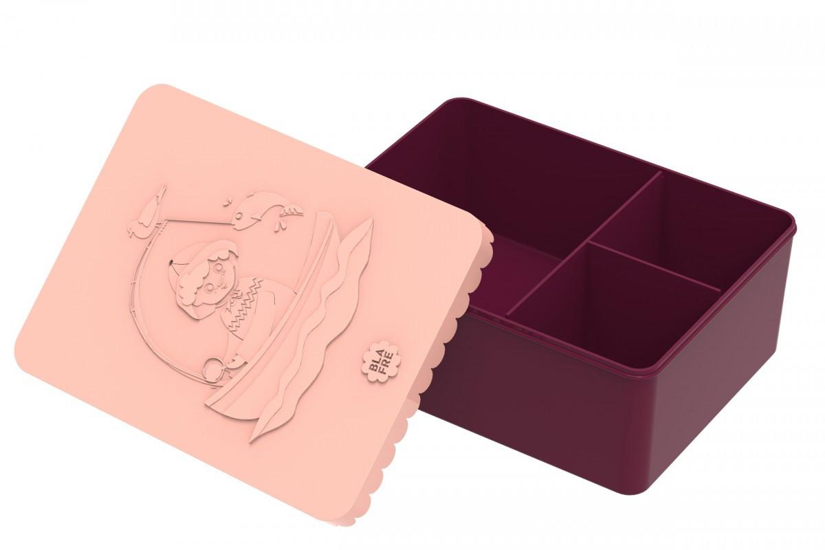 Blafre lunchbox visser (recht model met vakverdeling groot formaat)-7090015483847-39