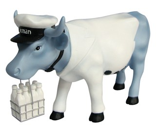 Cowparade Vaca Milkman (Medium)-4040491477918-37