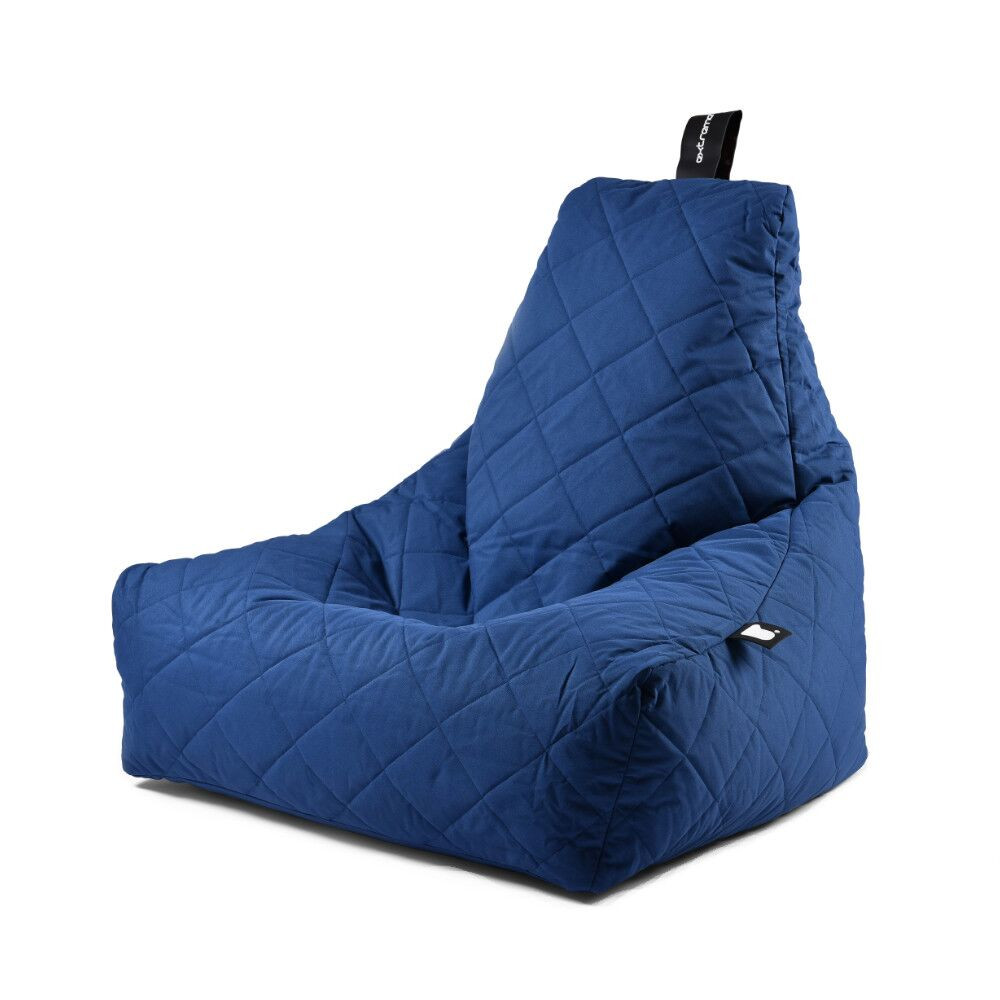 Extreme Lounging b-bag mighty-b Royal Blue Quilted-5060331721758-33