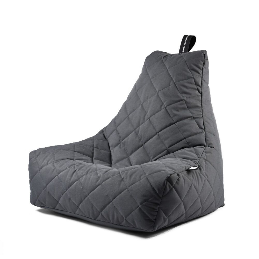Extreme Lounging b-bag mighty-b Grey Quilted-5060331721802-33