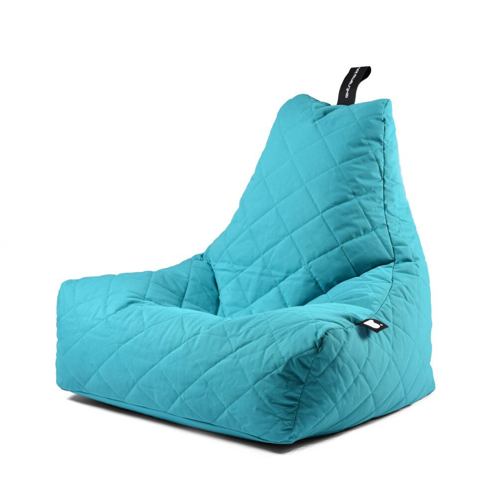 Extreme Lounging b-bag mighty-b Aqua Quilted-5060331721741-33
