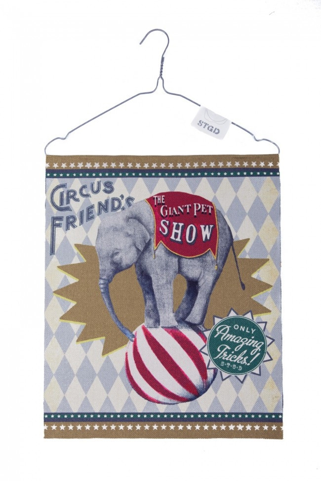Stapelgoed Banner Circus Elephant-6011650714777-32