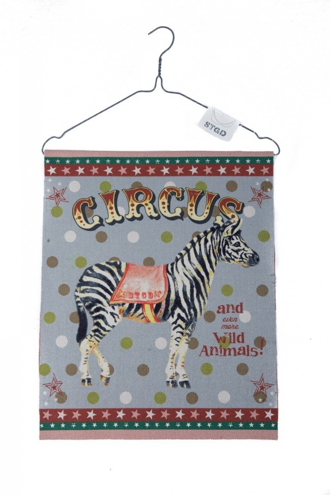 Stapelgoed Banner Circus Zebra-6011650845860-31