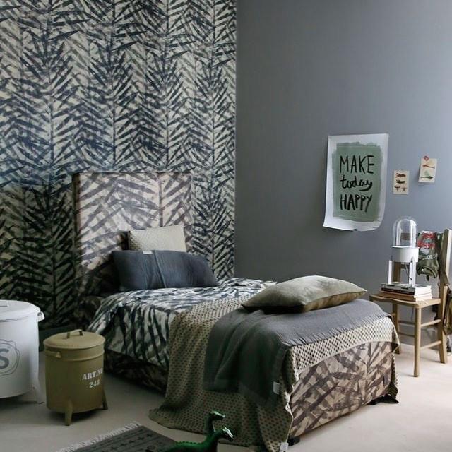 Stapelgoed Dekbedovertrek Palm Leaves 120x150cm (junior)-7439640879845-32