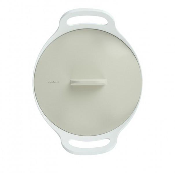 Cookut Keuken Cocotte 24 cm Grijze / Beige deksel-3760195161692-33