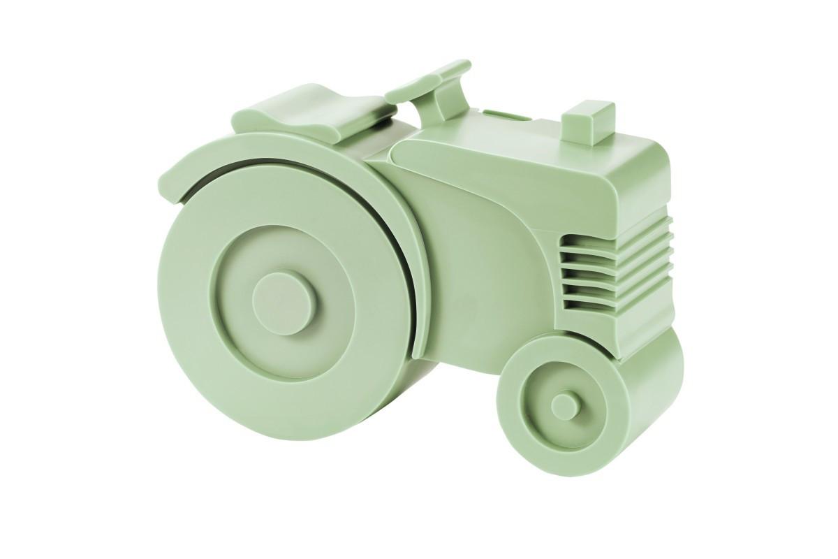 Blafre lunchbox tractor licht groen (rond)-7090015483502-32