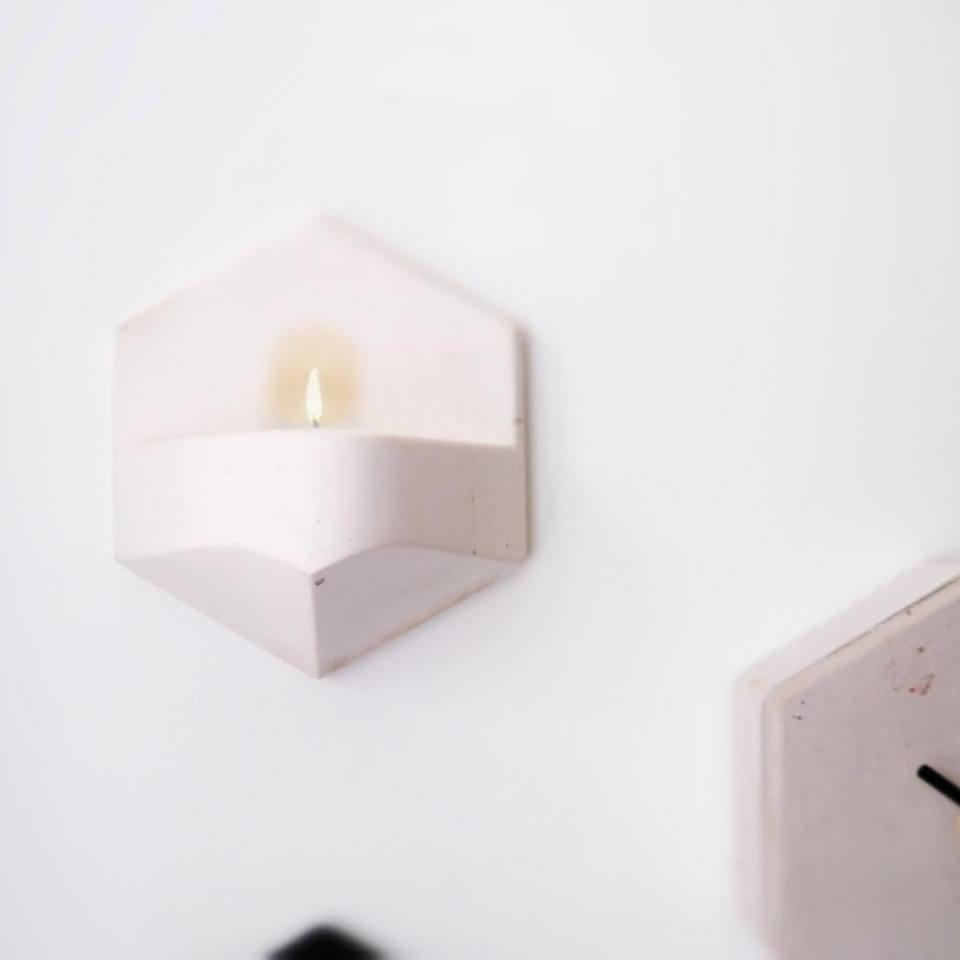 Valence Mono Flame concrete white-8719689434120-33