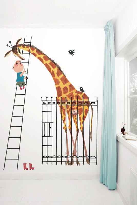 KEK Amsterdam fotobehang Reuze Giraf-8718754016261-31