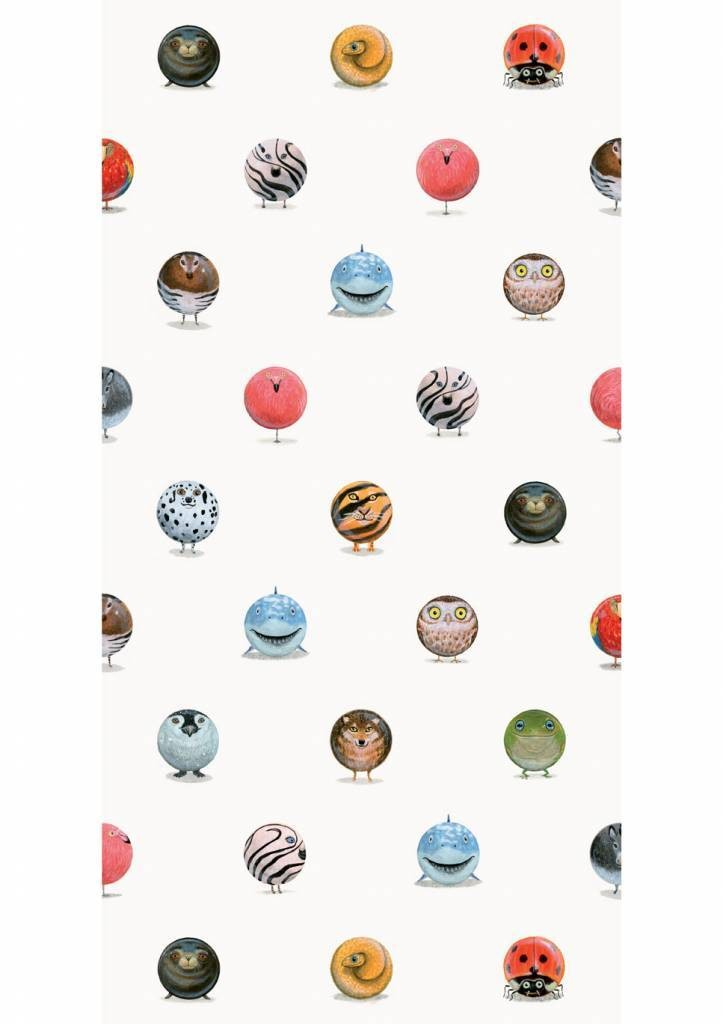 Kek Amsterdam X Martijn van der Linden Animal Marbles behang, 97.4 x 280 cm-8719743880351-31