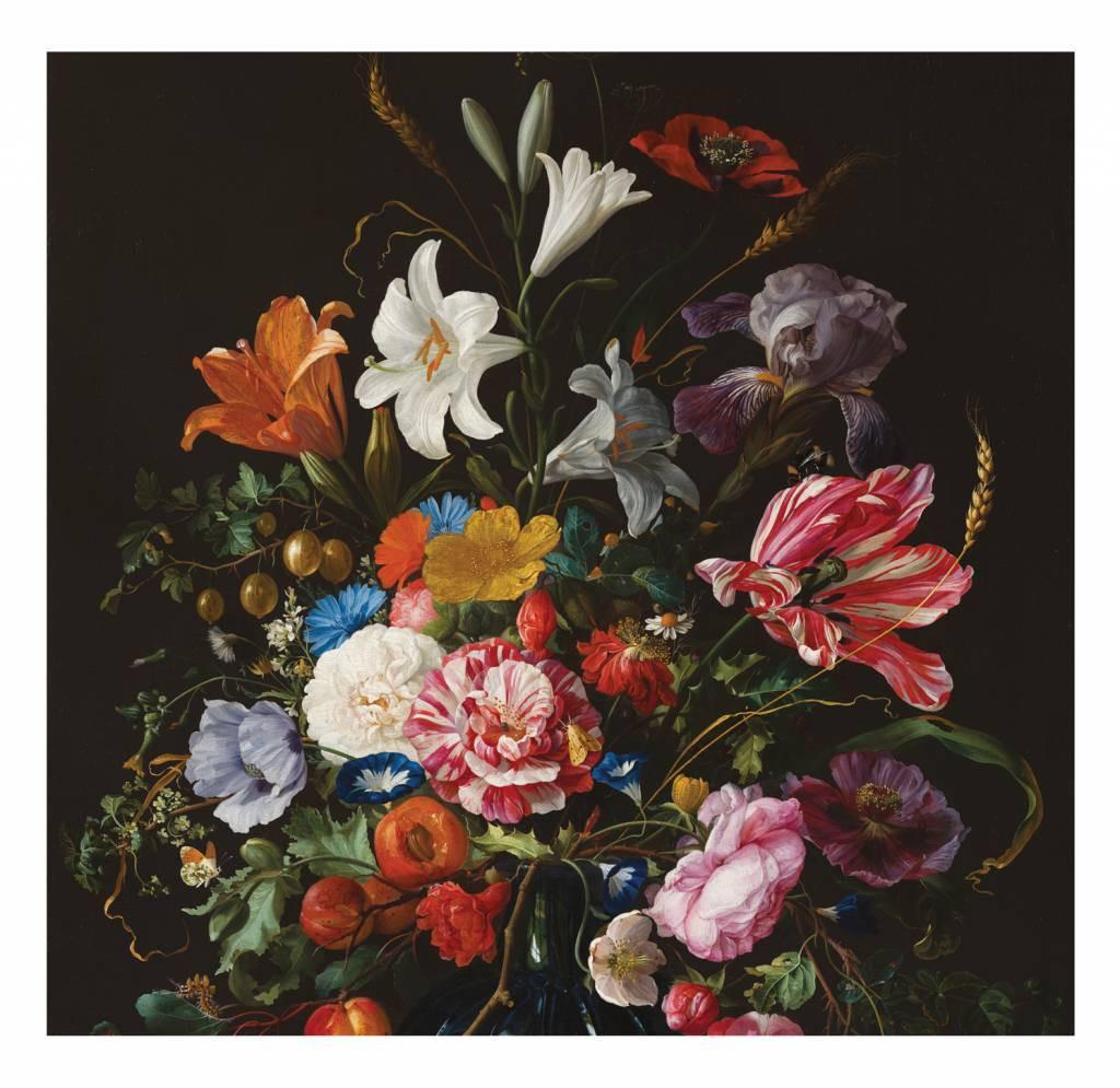 Kek Amsterdam Fotobehang Golden Age Flowers 5, 292.2 x 280 cm-8719743880252-31