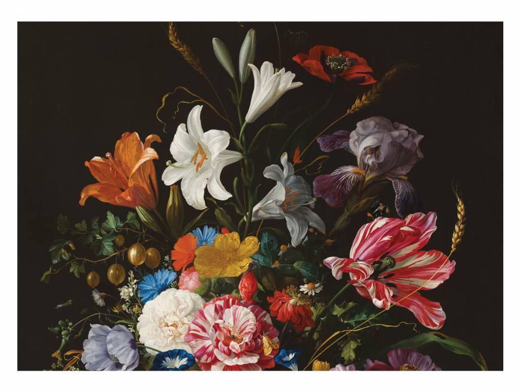 Kek Amsterdam Fotobehang Golden Age Flowers 5, 389.6 x 280 cm-8719743880269-31