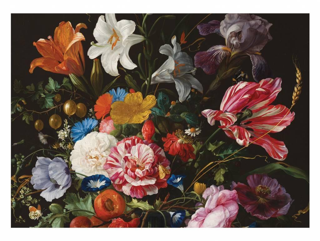 Kek Amsterdam Fotobehang Golden Age Flowers 6, 389.6 x 280 cm-8719743880276-32