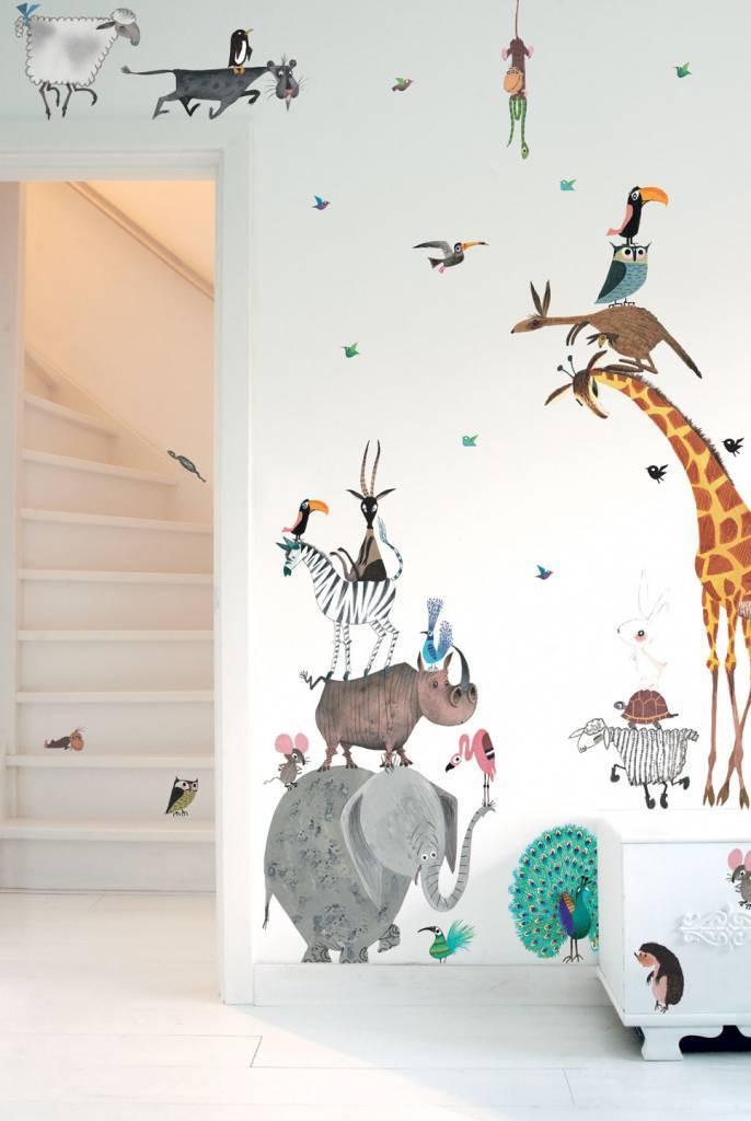 Kek Amsterdam Fiep Westendorp muurstickers Animals XL, 97 x 180 cm-8719743880221-32