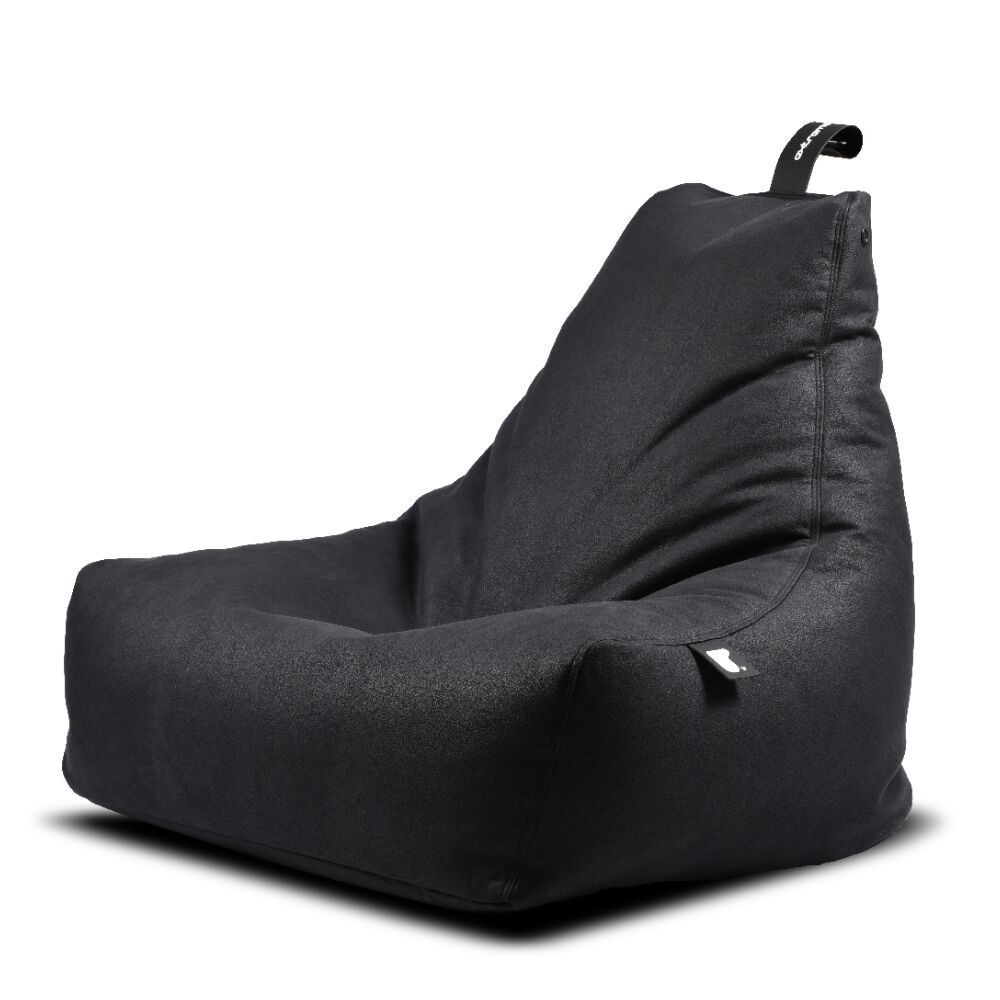 Extreme Lounging b-bag mighty-b Indoor Charcoal/ leatherlook grijs-5060331723615-31