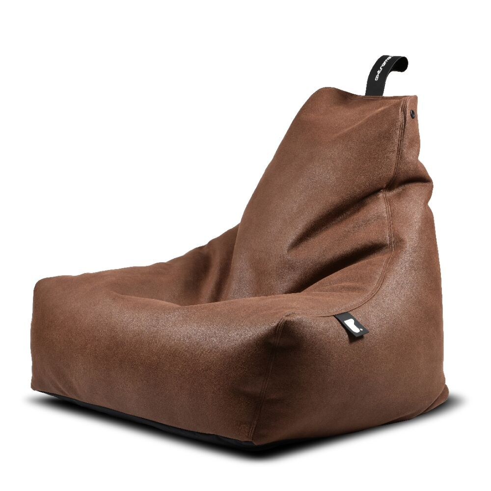 Extreme Lounging b-bag mighty-b Indoor Chestnut/ leatherlook bruin-5060331723639-31