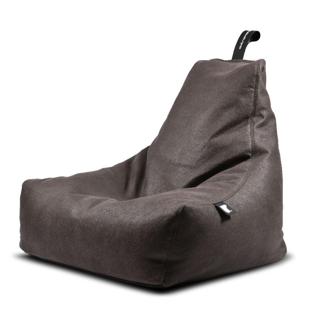Extreme Lounging b-bag mighty-b Indoor Slate/ leatherlook grijsbruin-5060331723622-31