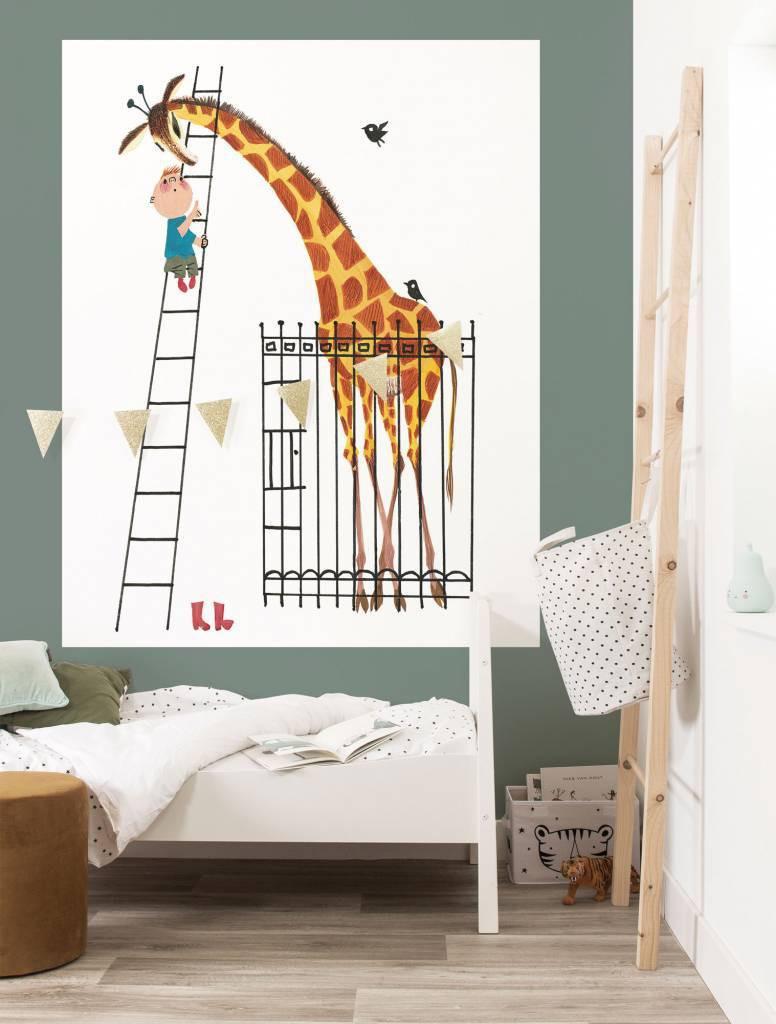 KEK Wallpaper Panel, Behangpaneel Giant Giraffe, 142.5 x 180 cm-8719743886162-33