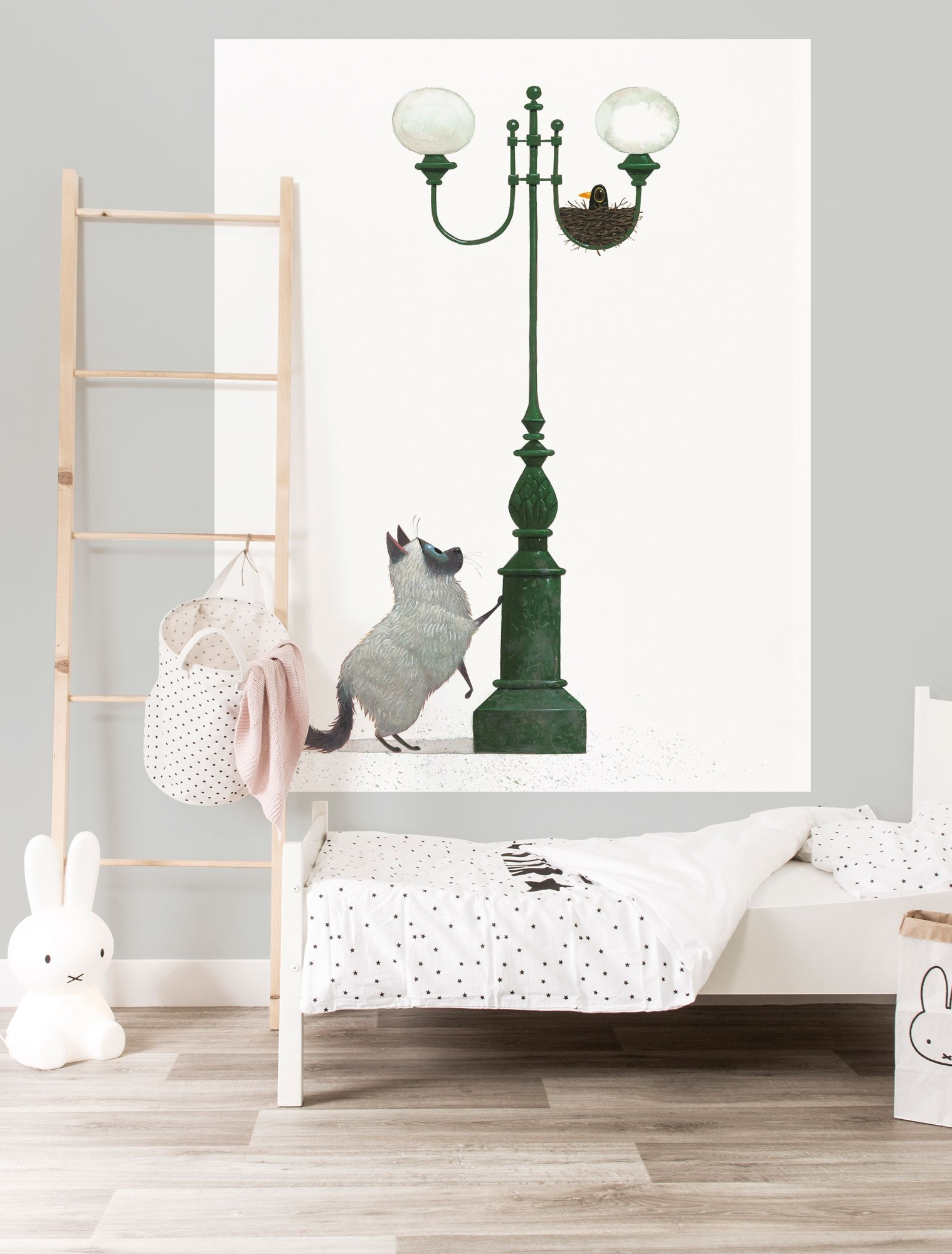 KEK Wallpaper Panel, Behangpaneel A Home for Harry, 142.5 x 180 cm-8719743886209-311