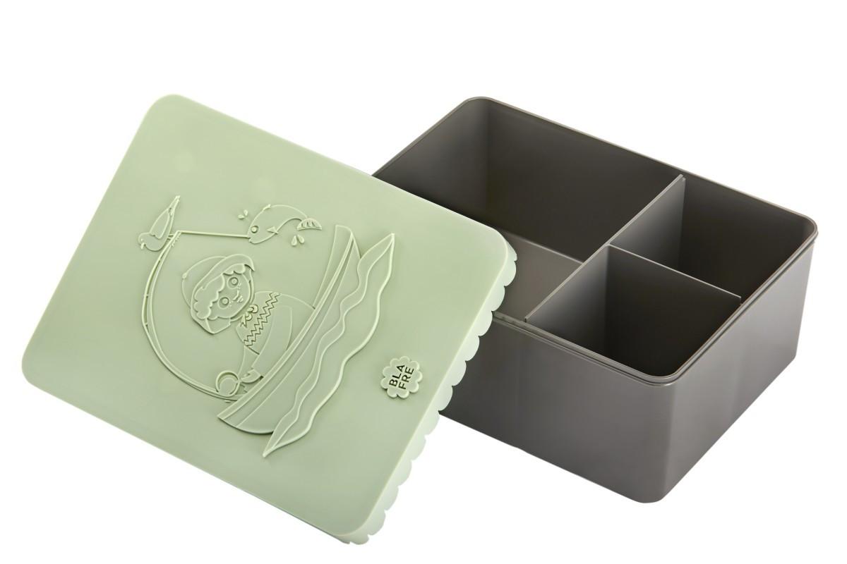 Blafre lunchbox visser (recht model met vakverdeling groot formaat)-7090015483212-310