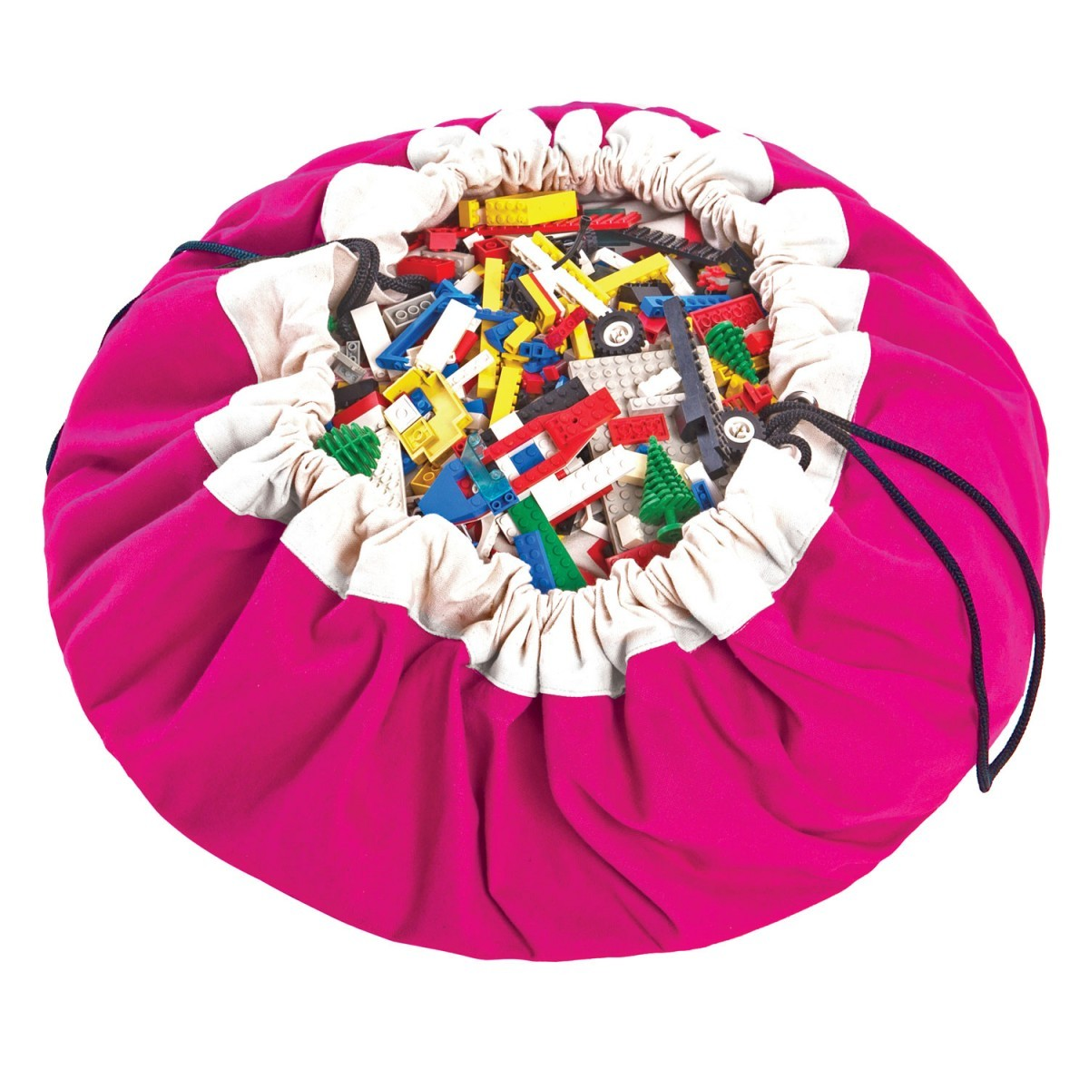 "Play and Go speelkleed/opbergzak ""Fuchsia""-5901121400029-34"