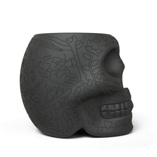 Qeeboo Mexico krukje / bijzettafel Black-8052049050951-31