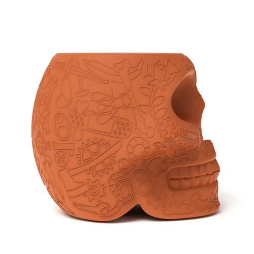 Qeeboo Mexico krukje / bijzettafel Terracotta-8052049050937-31