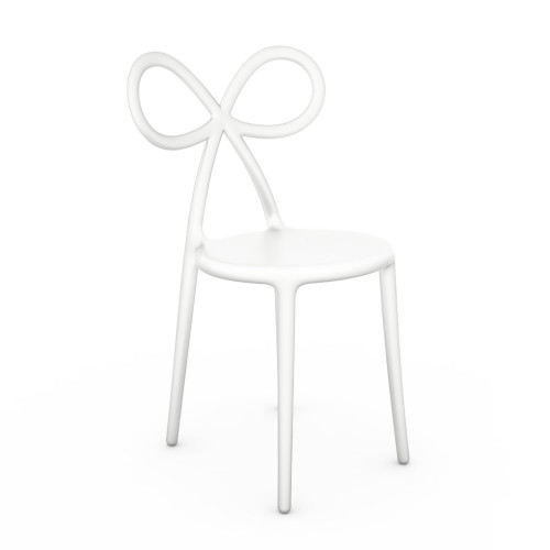 Qeeboo Ribbon Chair White single pack-8052049050647-31