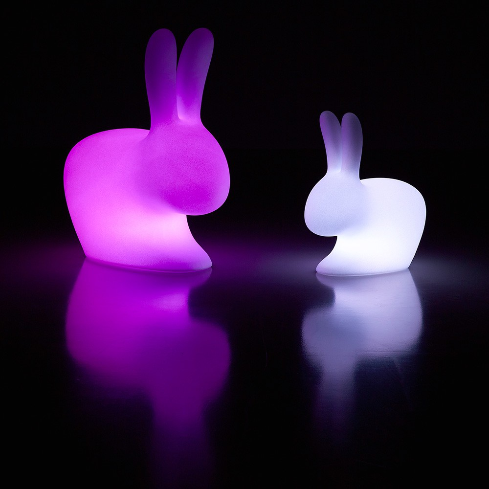 Qeeboo rabbit Chair Led small outdoor-8052049050227-32