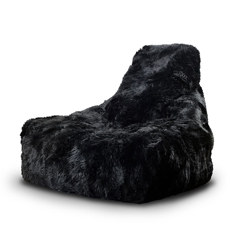 Extreme Lounging b-bag mighty-b Black Sheepskin FUR-5060331720737-31