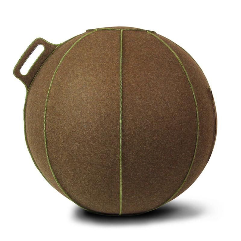 Vluv VELT zitbal Brown-Melange / Green 65 cm-4260534590590-31