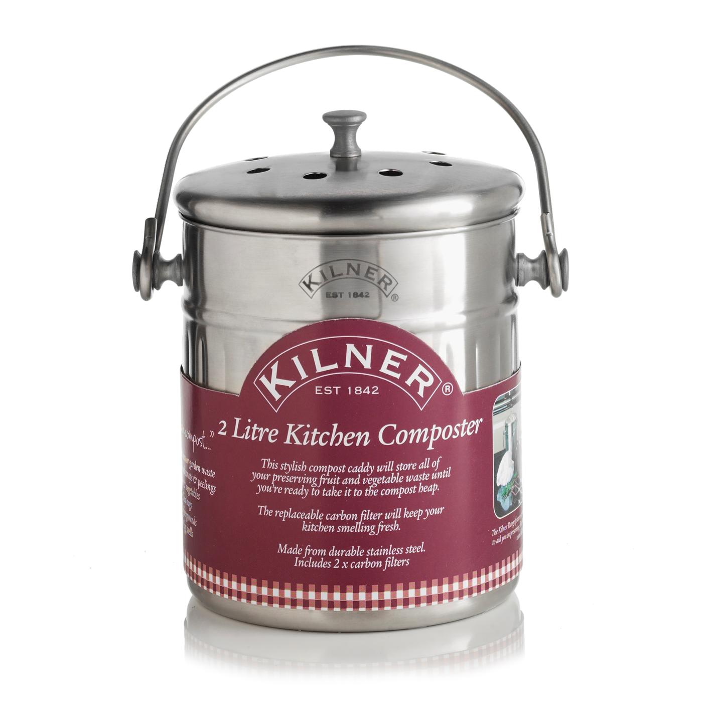 Kilner Compostbakje (2L)-5010853174006-31