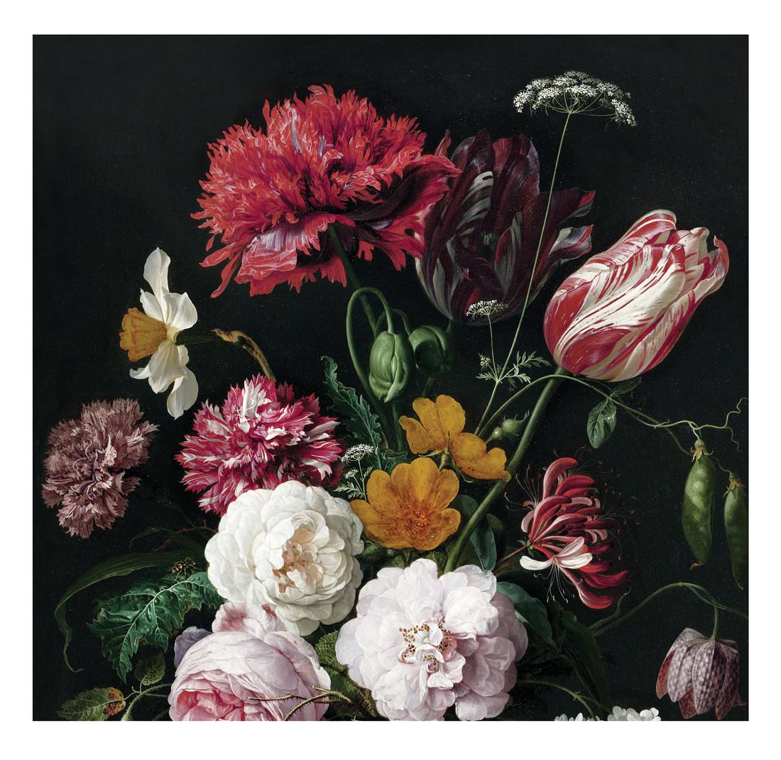 KEK Amsterdam Fotobehang Golden Age Flowers II, 6 vellen-8718754016636-31