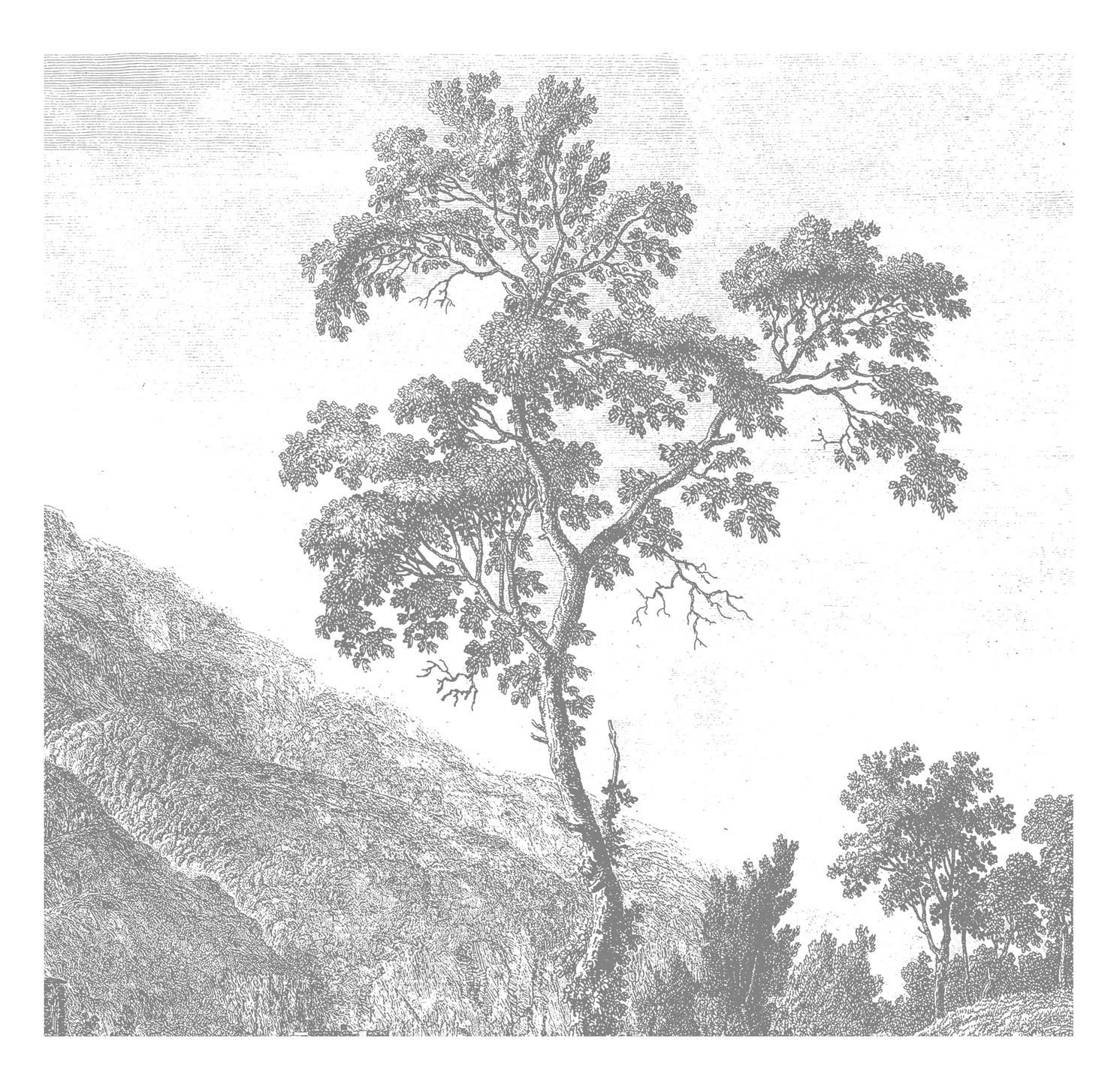 Kek Amsterdam Behang Engraved Landscape I-8718754018340-31
