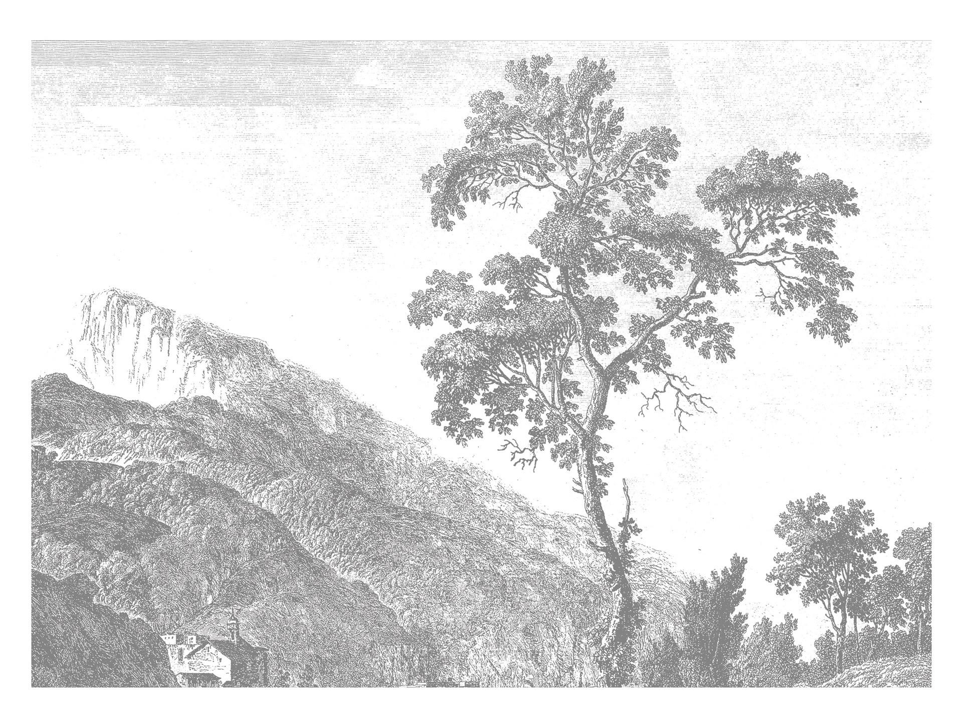 Kek Amsterdam Behang Engraved Landscape I-8718754018395-31