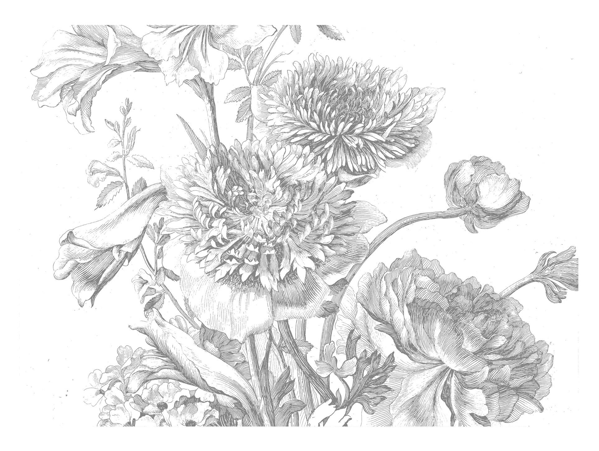 Kek Amsterdam Behang Engraved Flowers IV 389.6x280cm-8718754018555-31