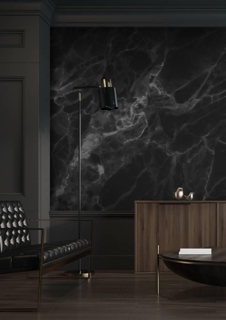 Kek Amsterdam Behang Marble zwart-grijs 4 banen 194,8x280-8719743884892-37