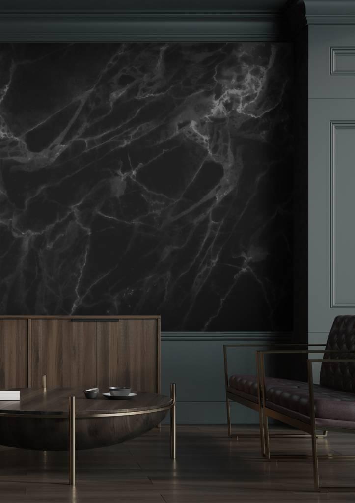 Kek Amsterdam Behang Marble zwart-grijs 8 banen 389,6x280-8719743884915-36