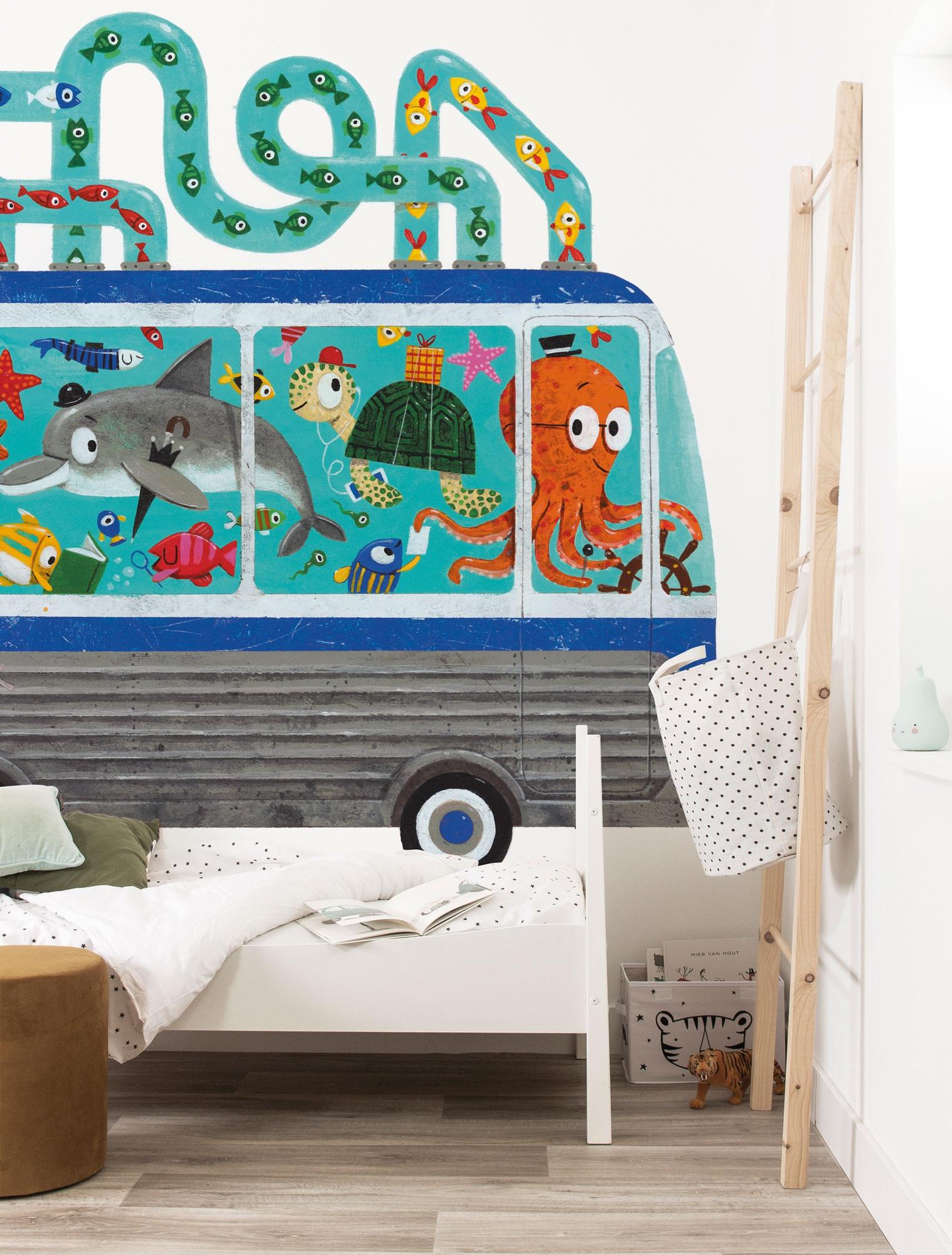 Kek Amsterdam Fotobehang Octobus, 389.6 x 280 cm-8719743886247-35