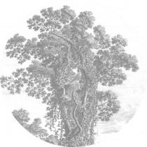 KEK Wallpaper Circle, Engraved Tree diameter van 142,5 of 190 cm-8719743885486-20