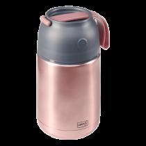 Lurch dubbelwandig thermos voor yoghurt, soep 680ml rvs roze-4019889138717-20