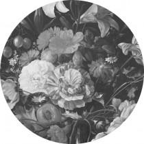 KEK Wallpaper Circle, Golden Age Flowers diameter van 142,5 of 190 cm-8719743885448-20