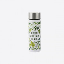 Typhoon Pure slimline fles uit rvs Green is the New black 190ml-5010853269375-20