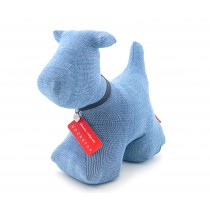 "Doorstop ""Max the Dog"" Slubby blue-1254554145116-20"