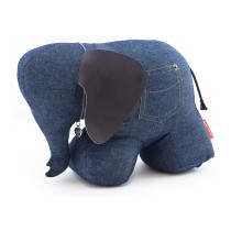"Doorstop ""Mrs Rosie the Elephant"" Denim-1254554152176-20"