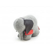 "Doorbanger ""Mrs Rosie the Elefant"" Grey felt-1254554252180-20"