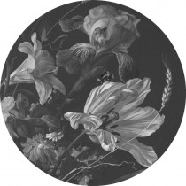 KEK Wallpaper Circle, Golden Age Flowers diameter van 142,5 of 190 cm-8719743885455-20
