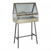 PTMD Merlyn glazen platenbak/ greenhouse met standaard-8716109949264-20